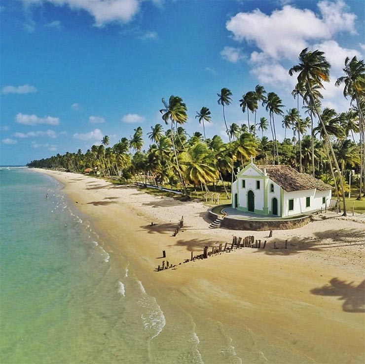 10 das melhores praias do Brasil (Foto: Cortesia/@gustavoalbano - Instagram)