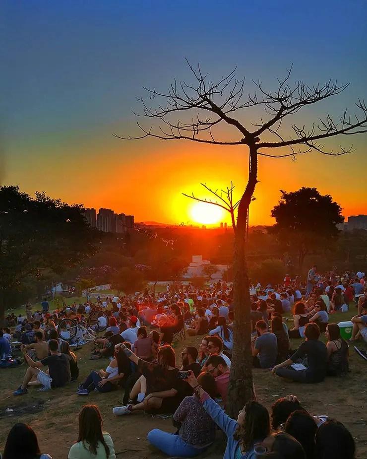 Praça do Pôr do Sol em SP (Foto: Esse Mundo É Nosso)