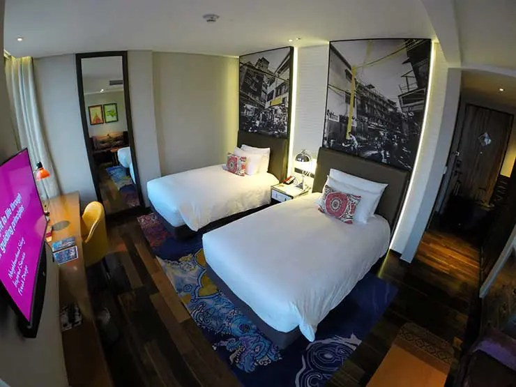 Dica de hospedagem em Bangkok: Hotel Indigo (Foto: Esse Mundo é Nosso)