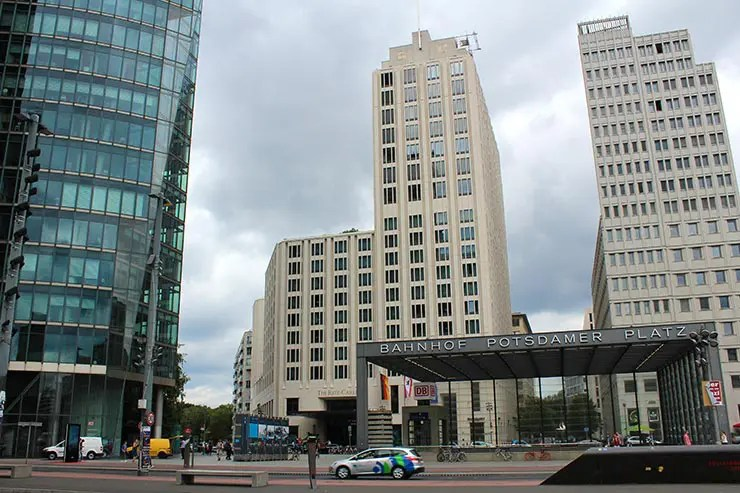 Panoramapunkt: A plataforma com vista panorâmica de Berlim (Foto: Esse Mundo É Nosso)