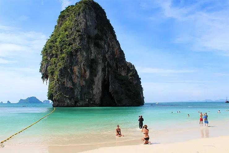 Onde ficar em Railay, Tailândia - Phra Nang Beach (Foto: Esse Mundo É Nosso)