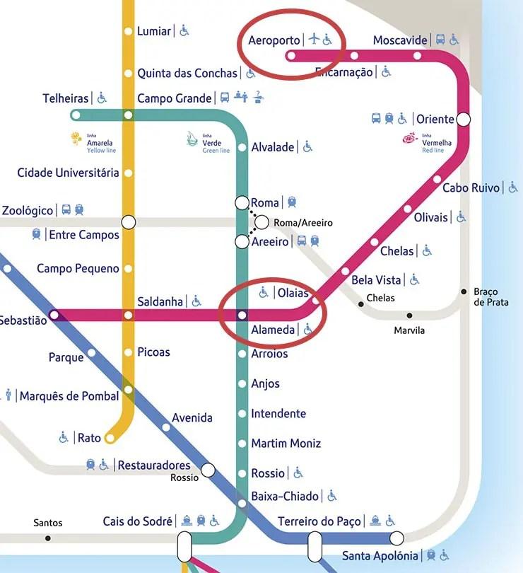 Como Ir Do Aeroporto De Lisboa Ao Centro Metro Taxi E Onibus