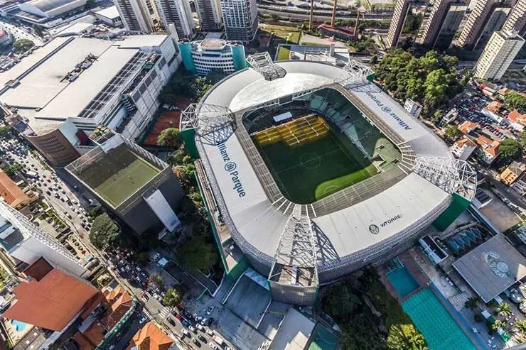 Como chegar ao Allianz Parque em São Paulo (Foto via Shutterstock)