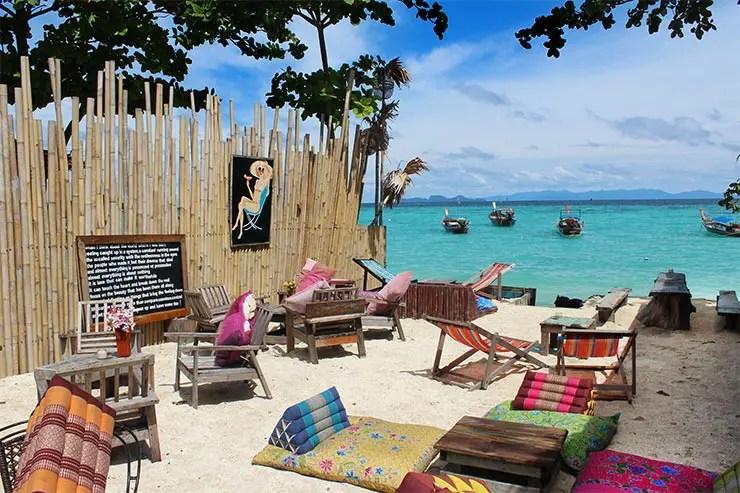 Viajar pra Koh Lipe - Sunrise Beach (Foto: Esse Mundo É Nosso)