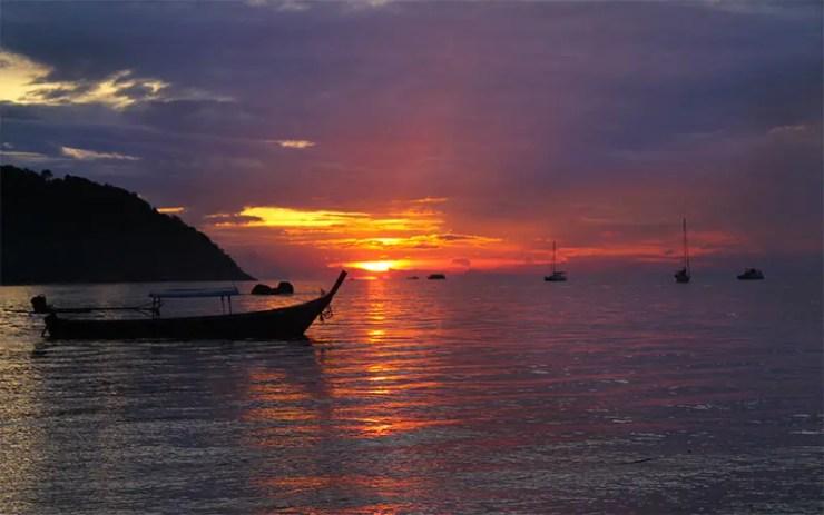 Onde ficar em Koh Lipe - Sunset Beach (Foto: Esse Mundo É Nosso)