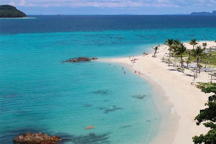 Praias de Koh Lipe - Sunrise Beach (Foto: Esse Mundo É Nosso)