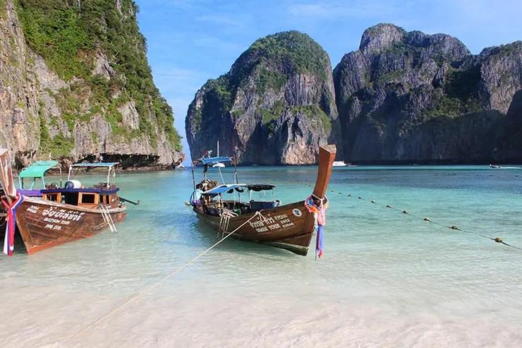 Melhores praias da Tailândia - Maya Bay, Phi Phi (Foto: Esse Mundo É Nosso)