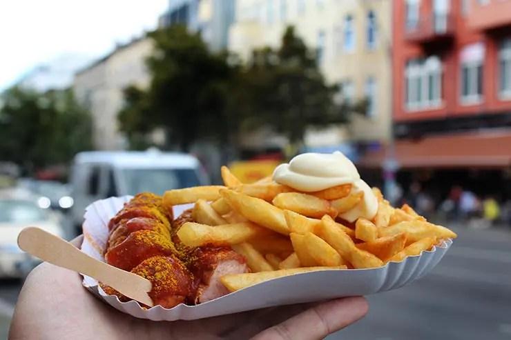 Onde comer em Berlim: Curry Mitte (Foto: Esse Mundo É Nosso)