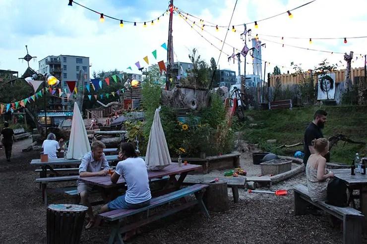 Onde comer em Berlim: Holzmarkt (Foto: Esse Mundo É Nosso)