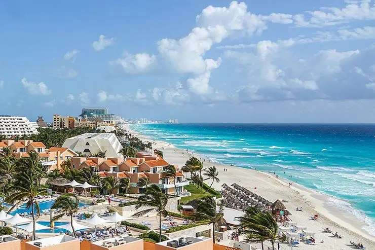 Lua de Mel no Caribe: Cancún, México