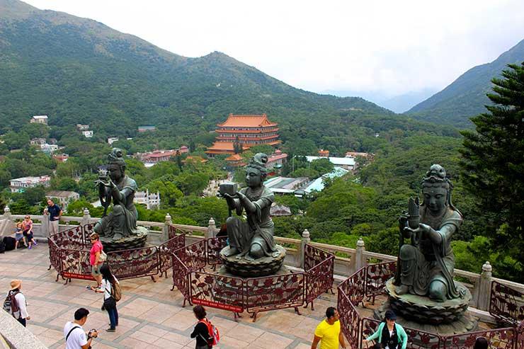 Buda de Hong Kong (Foto: Esse Mundo é Nosso)