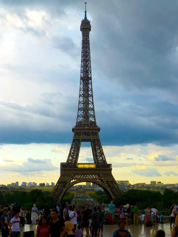 O que fazer em Paris: Torre Eiffel (Foto: Esse Mundo é Nosso)