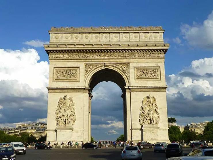 O que fazer em Paris: Arco do Triunfo (Foto: Esse Mundo é Nosso)