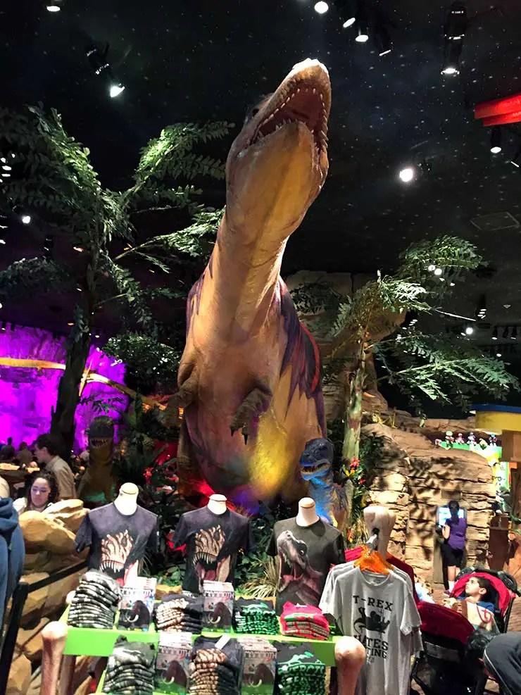 T-Rex na Disney (Foto: Esse Mundo é Nosso)