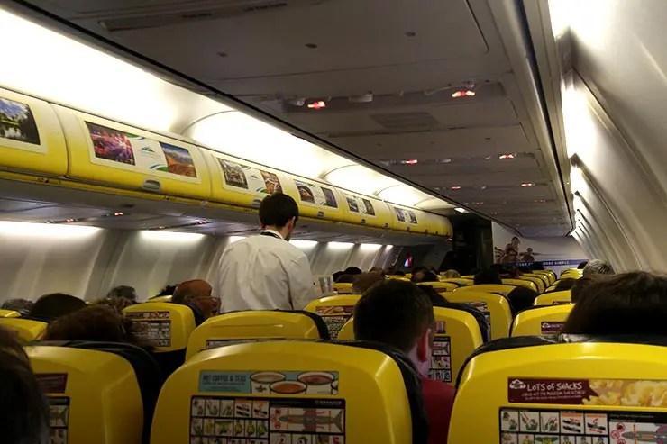 Como é voar Ryanair (Foto: Esse Mundo É Nosso)