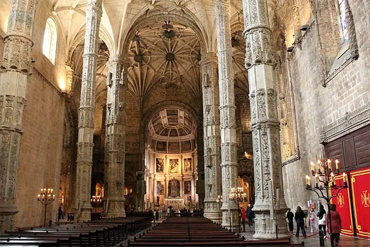 O que fazer em Belém, Portugal - Igreja de Santa Maria de Belém (Foto: Esse Mundo É Nosso)