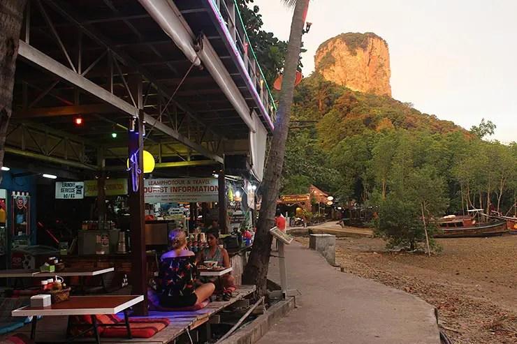 Onde comer em Railay (Foto: Esse Mundo É Nosso)