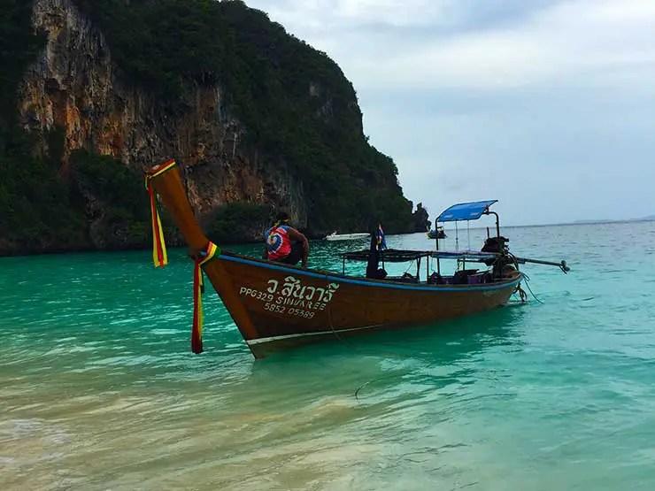 Monkey Beach na TailÂndia (Foto: Esse Mundo é Nosso)
