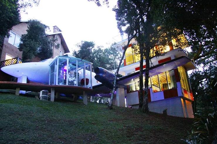 Uma suíte de hotel num avião: Viviê Pousada (Foto: Divulgação)