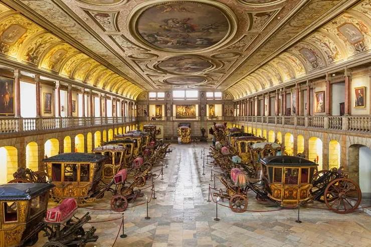 O que fazer em Lisboa com chuva: Museu Nacional dos Coches (Foto via Shutterstock)