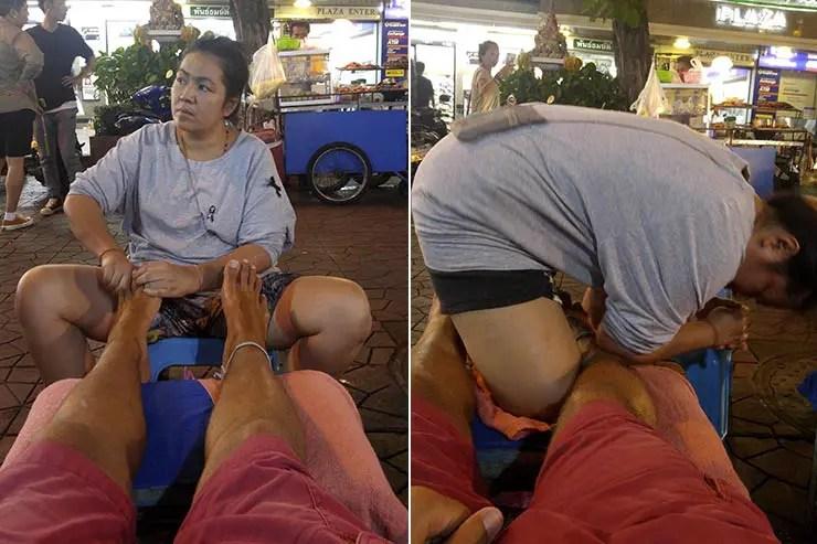 Massagem Tailandesa (Foto: Esse Mundo É Nosso)