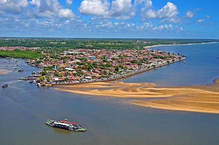Quando ir pra Porto Seguro, Trancoso e Arraial d'Ajuda - Vista aérea de Porto Seguro (Foto: Divulgação/Secretaria de Turismo)
