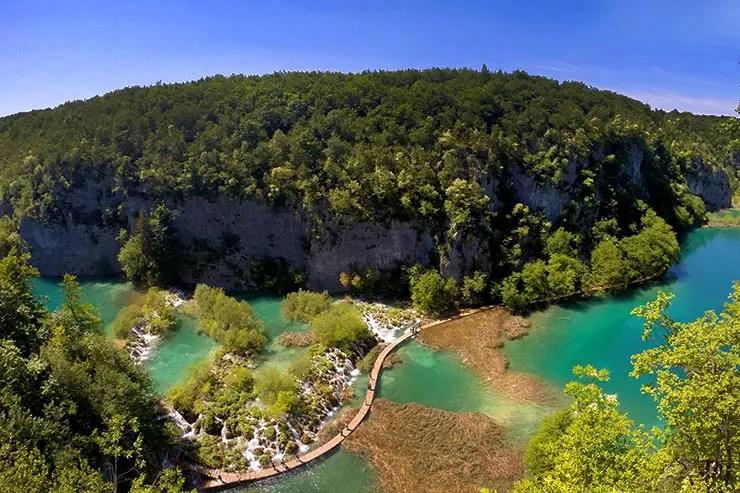 Roteiro na Croácia: Lagos Plitvice (Foto: Esse Mundo É Nosso)