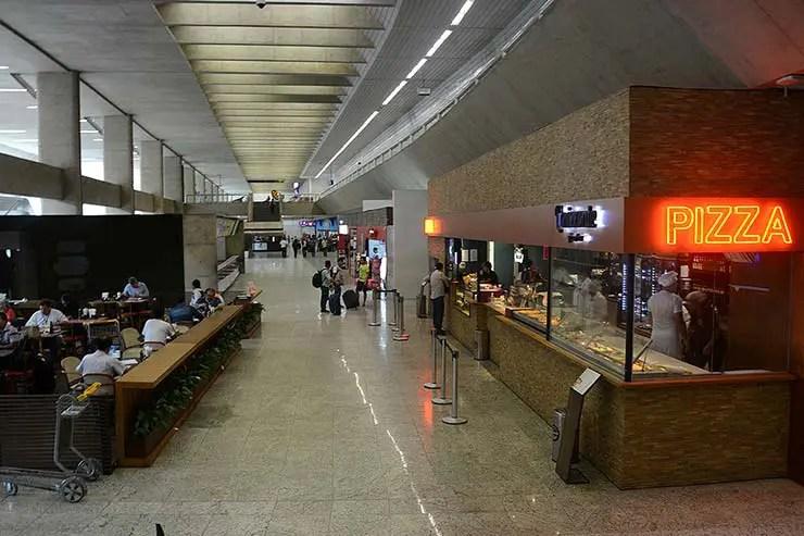 Ônibus do aeroporto de Confins pra Belo Horizonte (Foto: BH Airport/Divulgação)