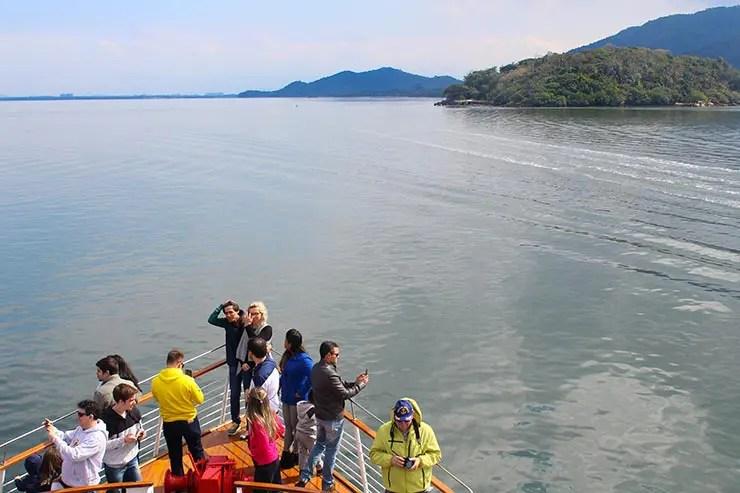 Barco Príncipe de Joinville a São Francisco do Sul (Foto: Esse Mundo É Nosso)