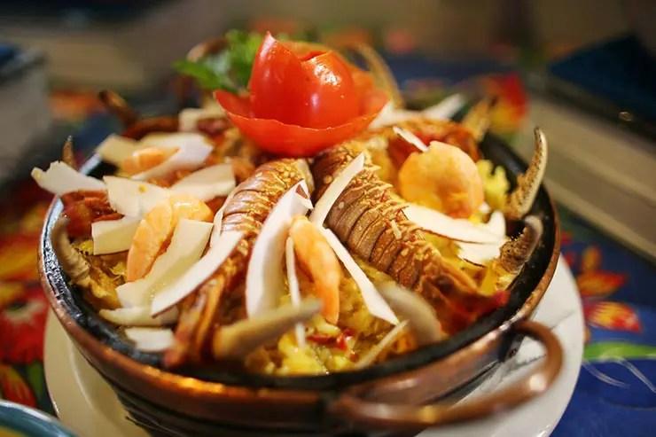 Culinária maranhense - Arroz do Mar (Foto: Roberto Castro/MTur)