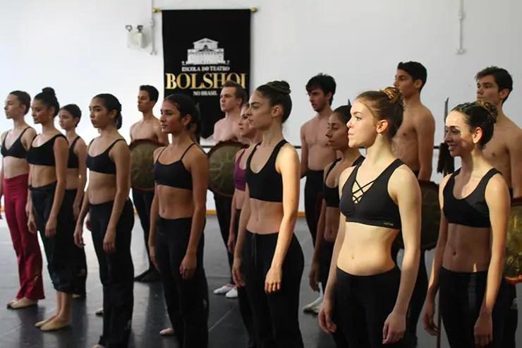 Visita à Escola Bolshoi em Joinville (Foto: Esse Mundo É Nosso)