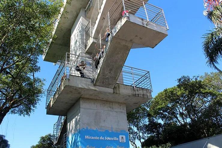 Visita ao Mirante de Joinville (Foto: Esse Mundo É Nosso)