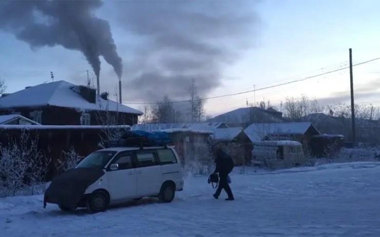 A cidade mais fria do mundo (Foto: Reprodução vídeo/To The Coldest Land)