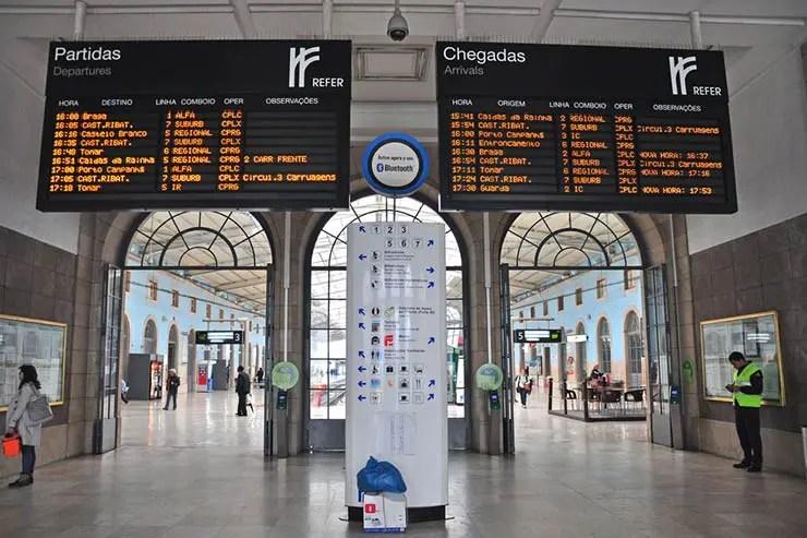 Viajar de trem em Portugal (Foto via Shutterstock)