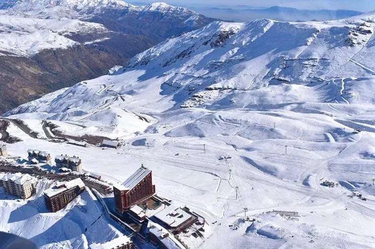 10 motivos pra viajar pra Santiago - Valle Nevado (Foto: Divulgação)