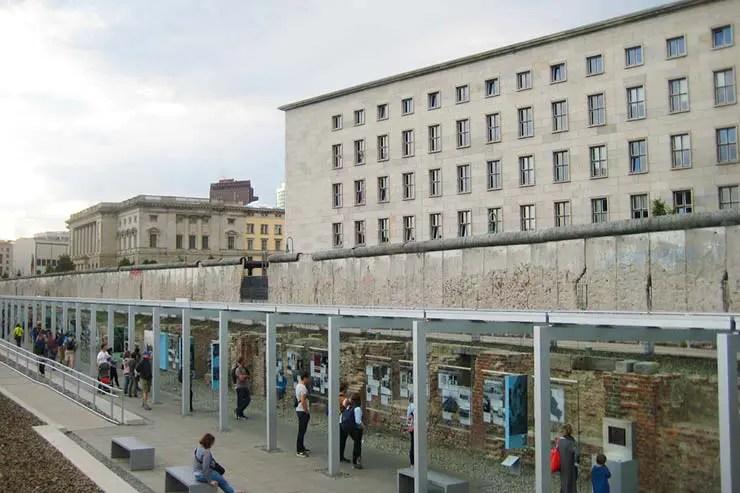 Onde ver o Muro de Berlim - Topografia do Terror (Foto via Shutterstock)