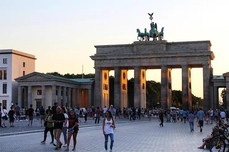 Onde ver o Muro de Berlim - Portão de Brandemburgo (Foto: Esse Mundo É Nosso)