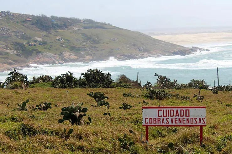 Farol de Santa Marta, Laguna/SC (Foto: Esse Mundo É Nosso)