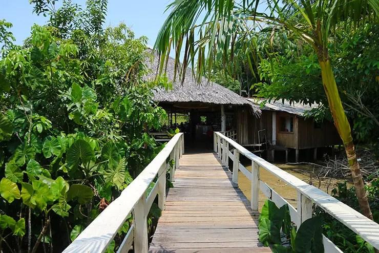 Ilha do Combu (Foto: Esse Mundo é Nosso)