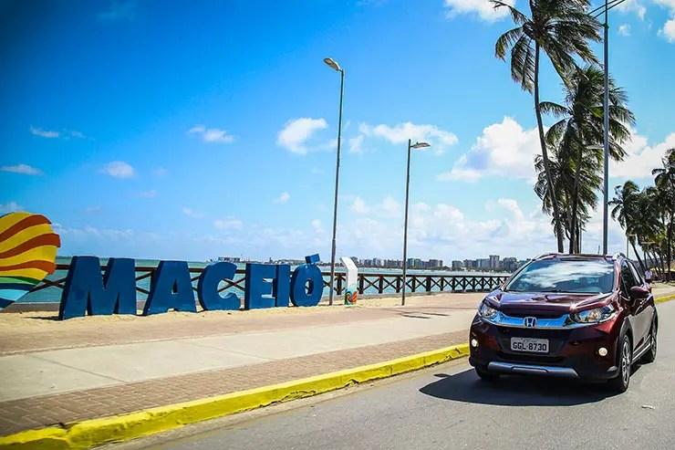 Roteiro de carro de Maceió a Recife - Honda WR-V (Foto: Cortesia/Honda)