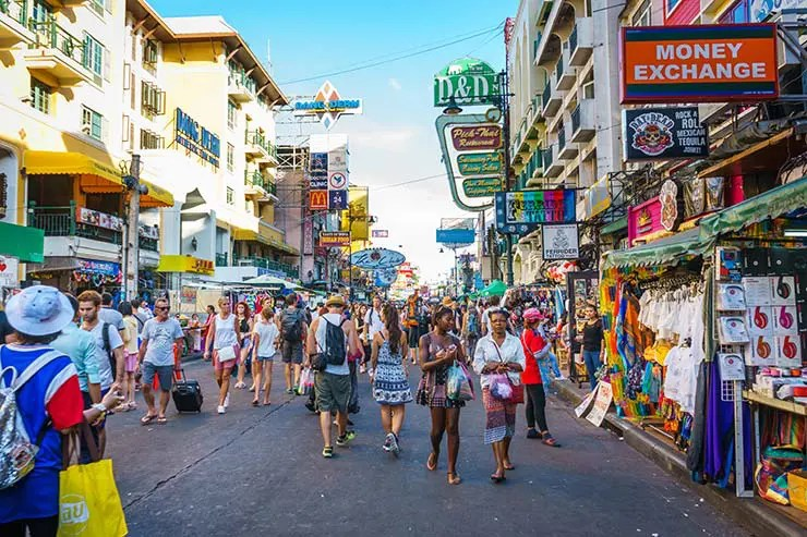 Onde ficar perto da Khaosan Road em Bangkok (Foto via Shutterstock)