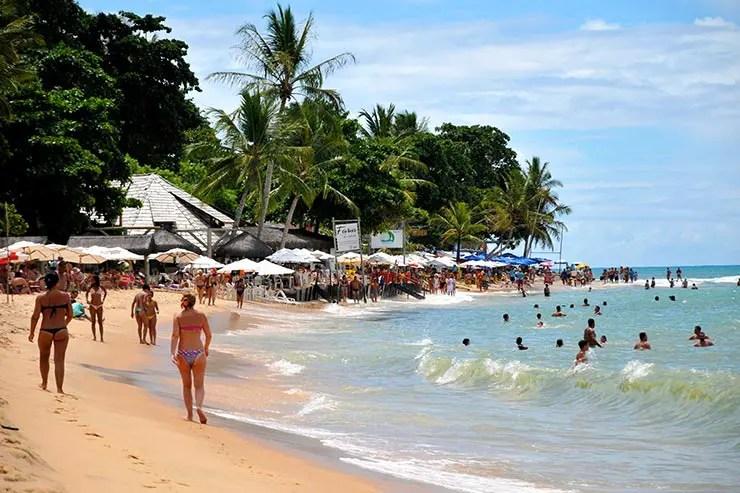 Praias de Arraial d'Ajuda: Praia do Mucugê (Foto: Divulgação/Setur Porto Seguro)