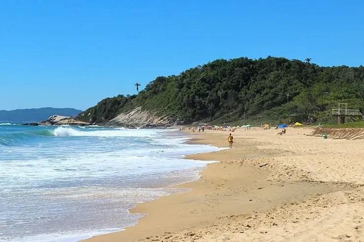 Praias de Balneário Camboriú: Praia do Estaleirinho (Foto: Esse Mundo É Nosso)