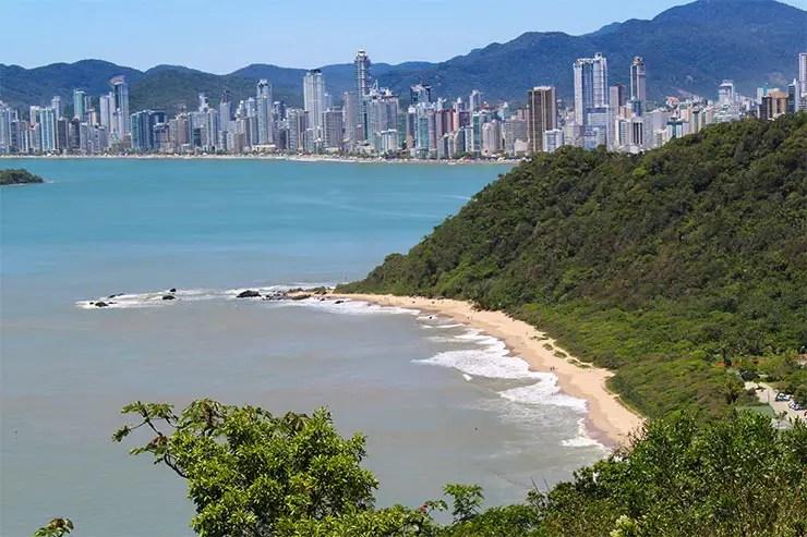 Praias de Balneário Camboriú: Praia do Buraco (Foto: Esse Mundo É Nosso)