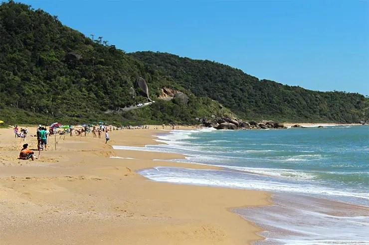 Praias de Balneário Camboriú: Praia de Taquaras (Foto: Esse Mundo É Nosso)