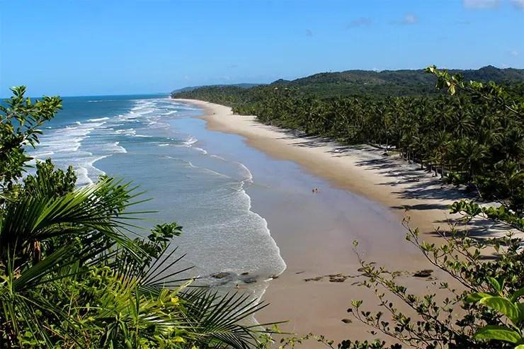 Cidades de praia na Bahia (Foto: Esse Mundo é Nosso)
