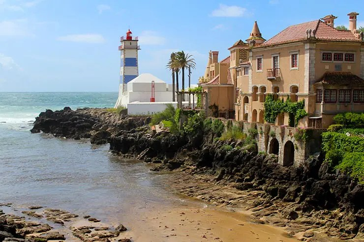 Cascais e Sintra em um dia - Farol de Santa Marta (Foto: Esse Mundo É Nosso)