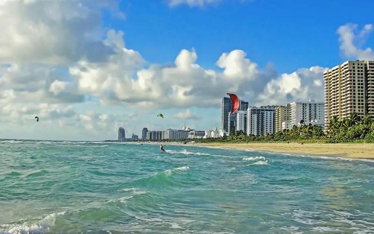 Motivos pra viajar pra Miami