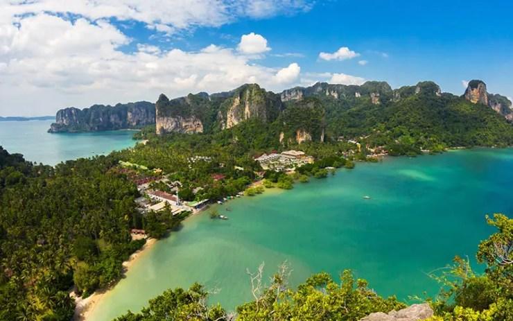 O que fazer em Railay Beach, Tailândia - View Point (Foto via Shutterstock)