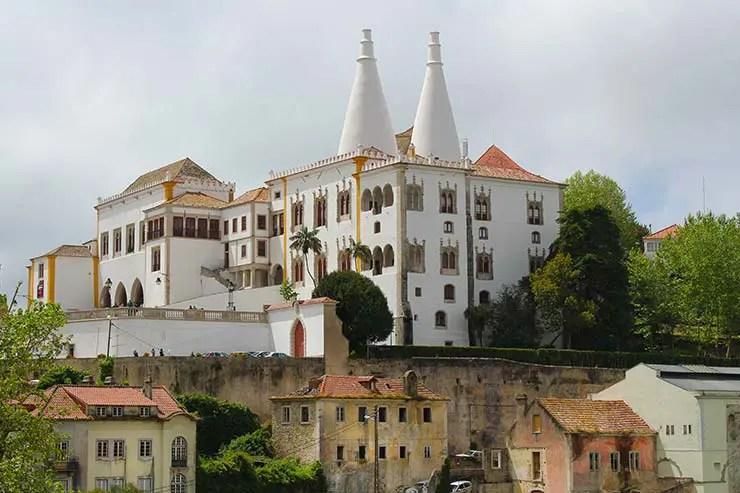 Cascais e Sintra em um dia - Palacio Nacional (Foto: Esse Mundo É Nosso)